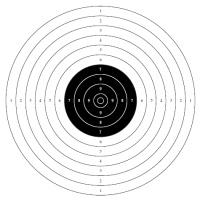 Бланк Мишени Для Стрельбы Из Пневматики - фото 4